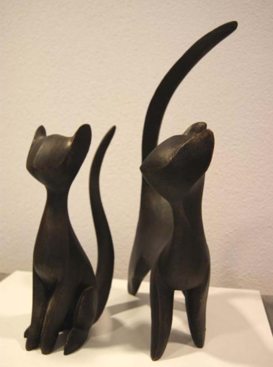 Kunst: Felix 1 & 2 van kunstenaar Albert Kramer