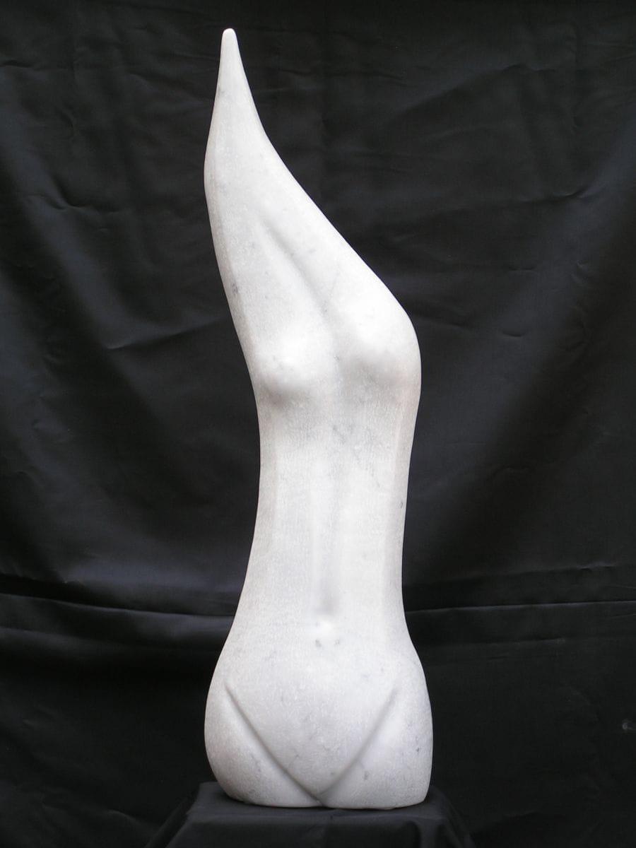 Kunst: Fiery Lady van kunstenaar Bert Verboon