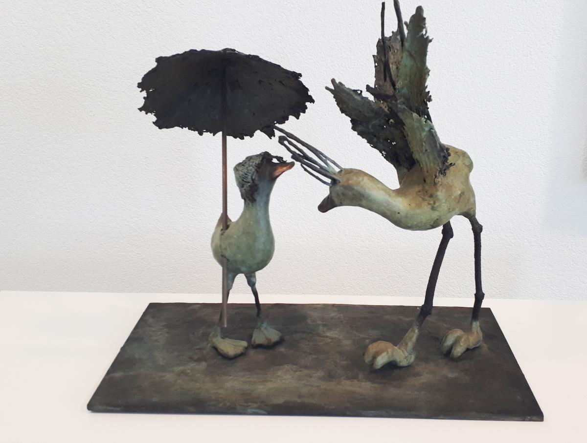 Kunst: first date van kunstenaar Chris Gadiot