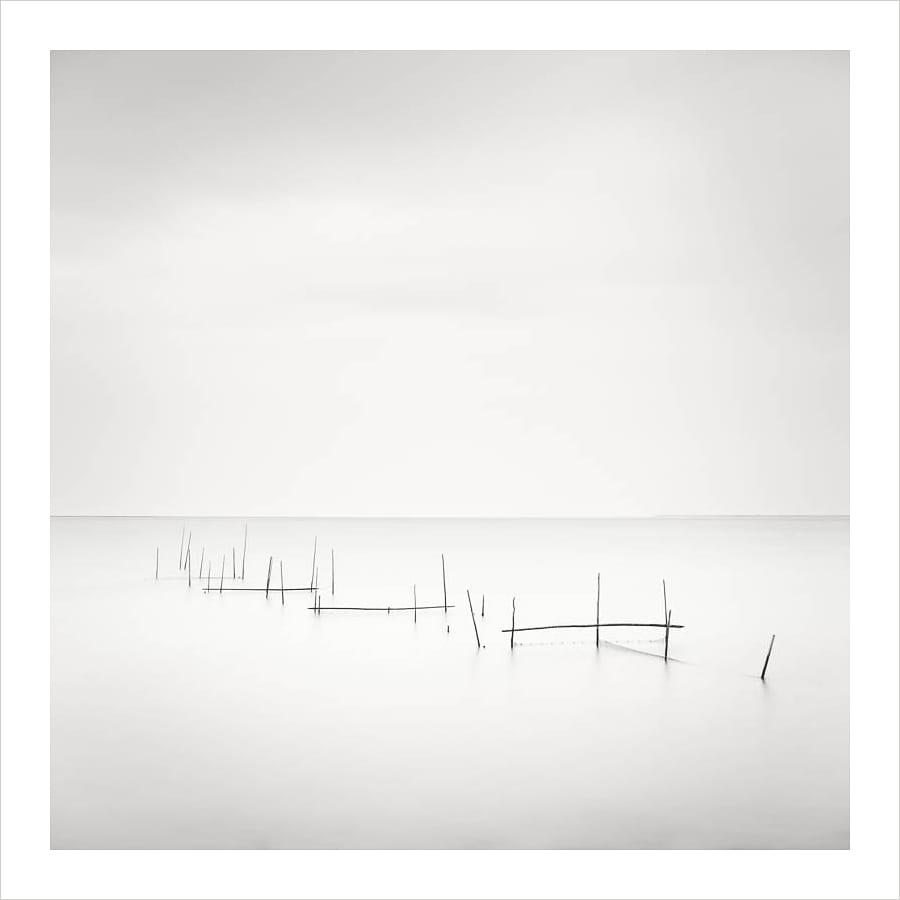 Kunst: Fishing nets – study 1 van kunstenaar Wilco Dragt