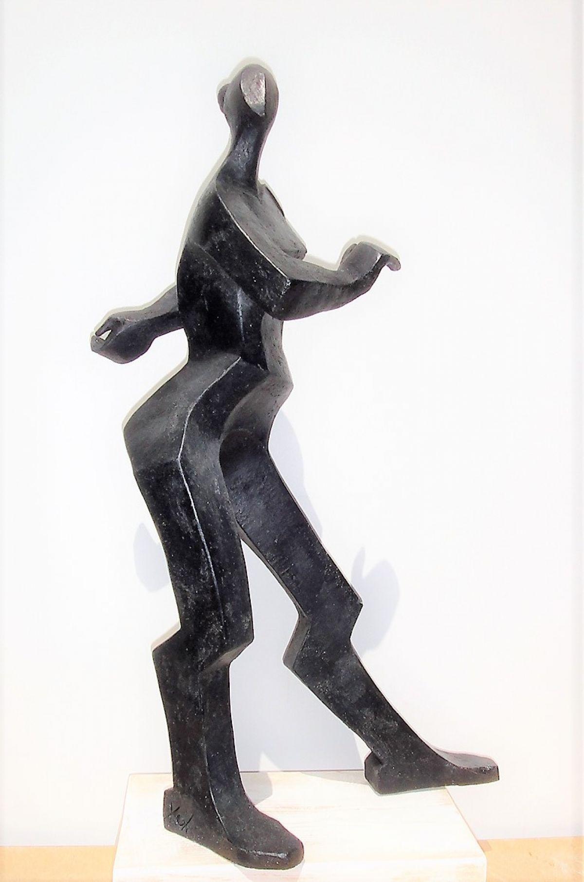 Kunst: FLAMENGODANSERES 1 van kunstenaar Hetty Kok