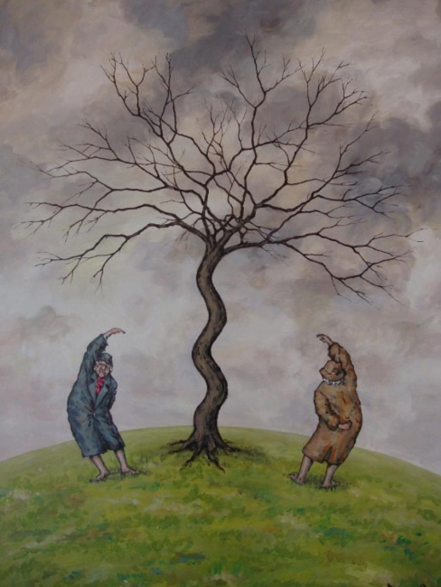 Kunst: Flexibele opstelling van kunstenaar Paddy Spoelder