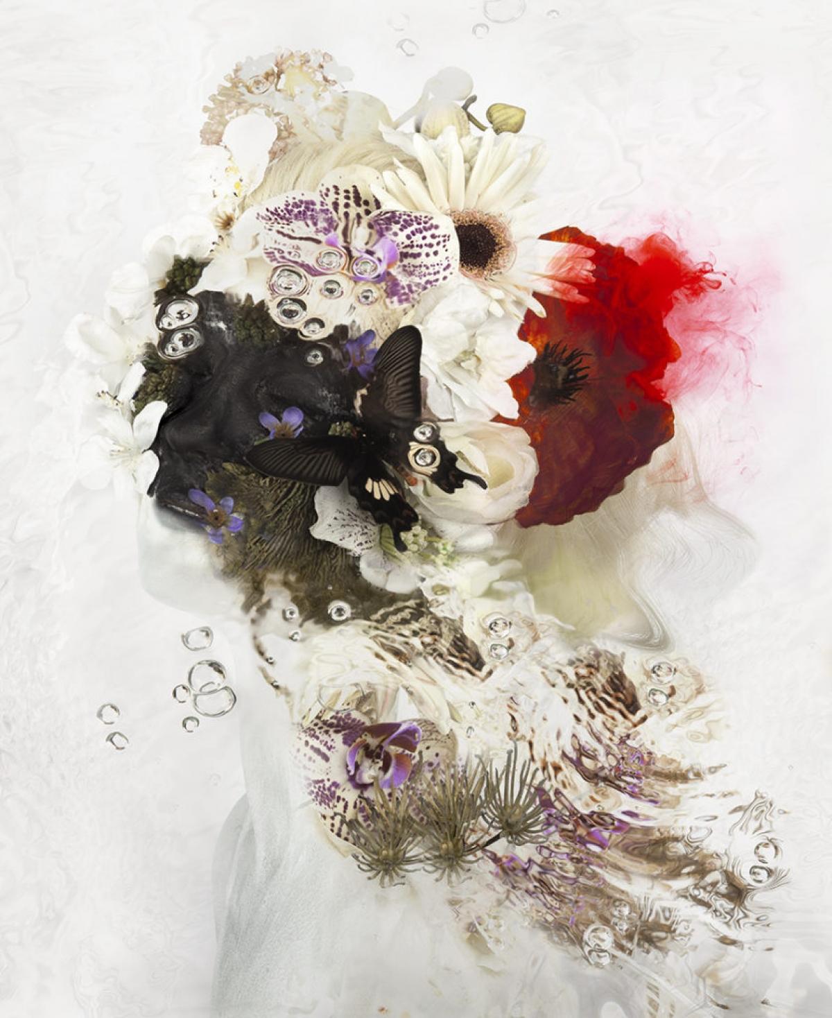 Kunst: Flör van kunstenaar  dindi
