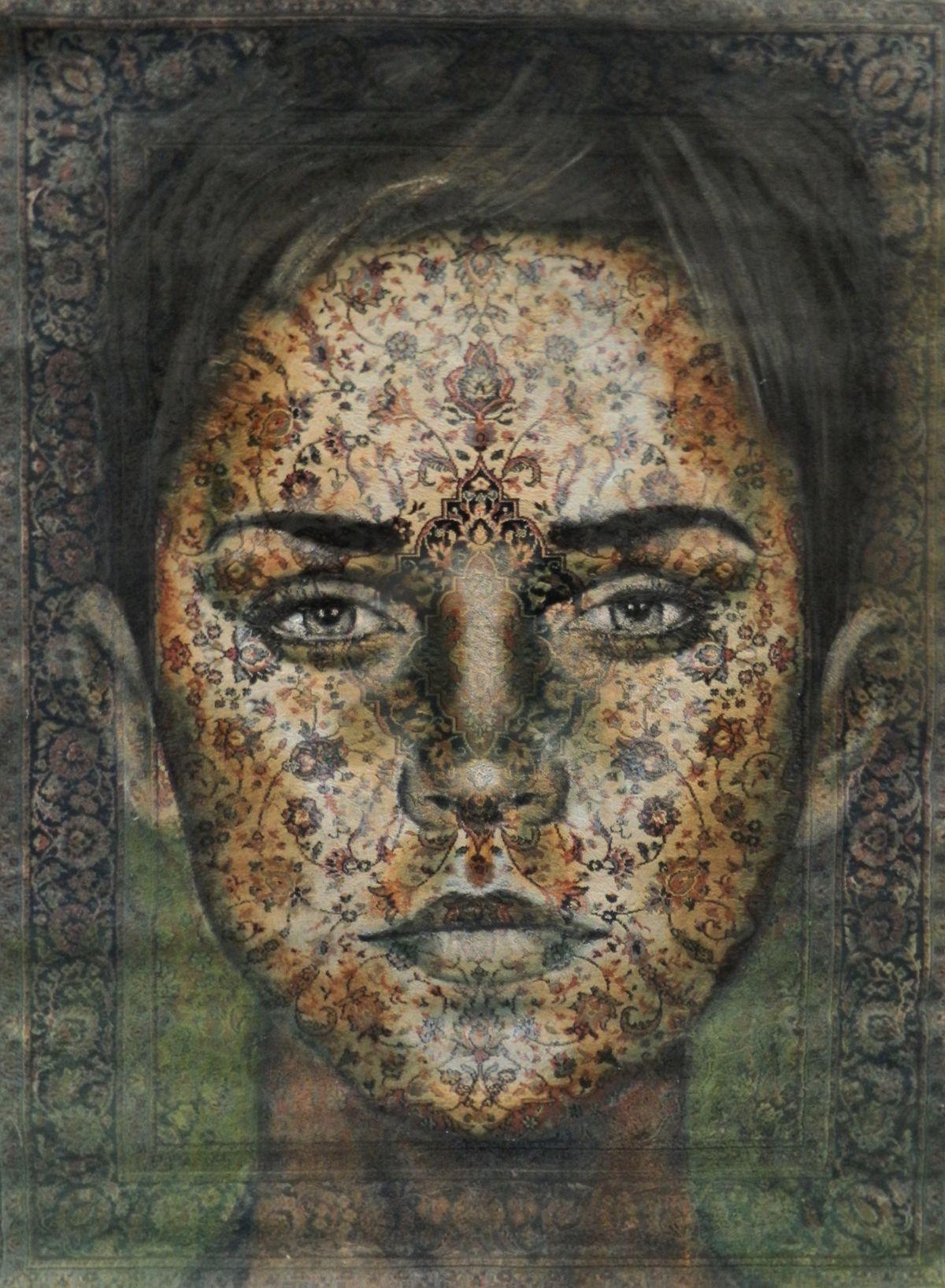 Kunst: Flower power 2. van kunstenaar Jacqueline Klein-Breteler