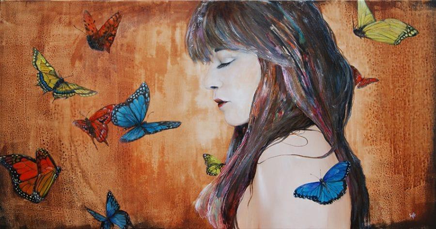 Kunst: Fly to the soul van kunstenaar Tamara Sille