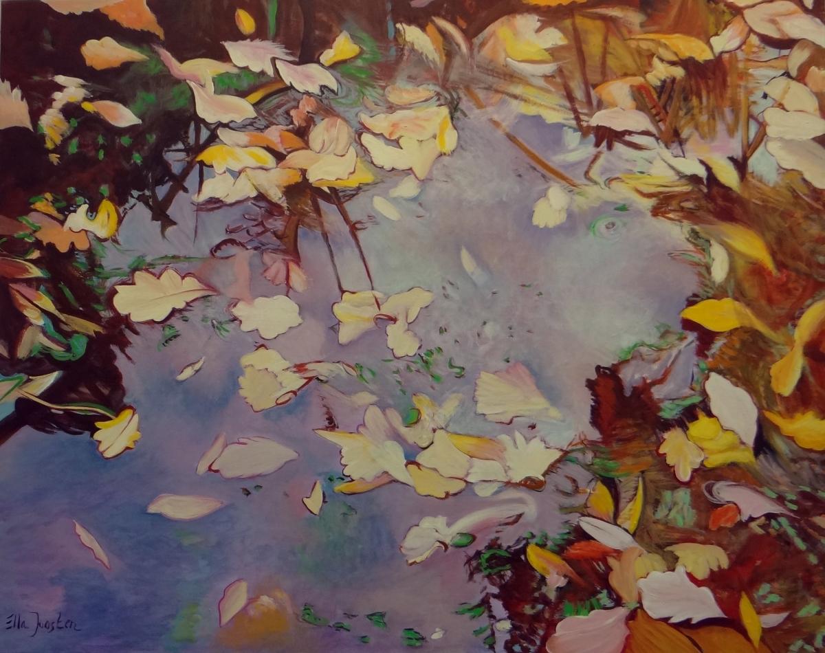 Kunst: Foliage Two van kunstenaar Ella Joosten