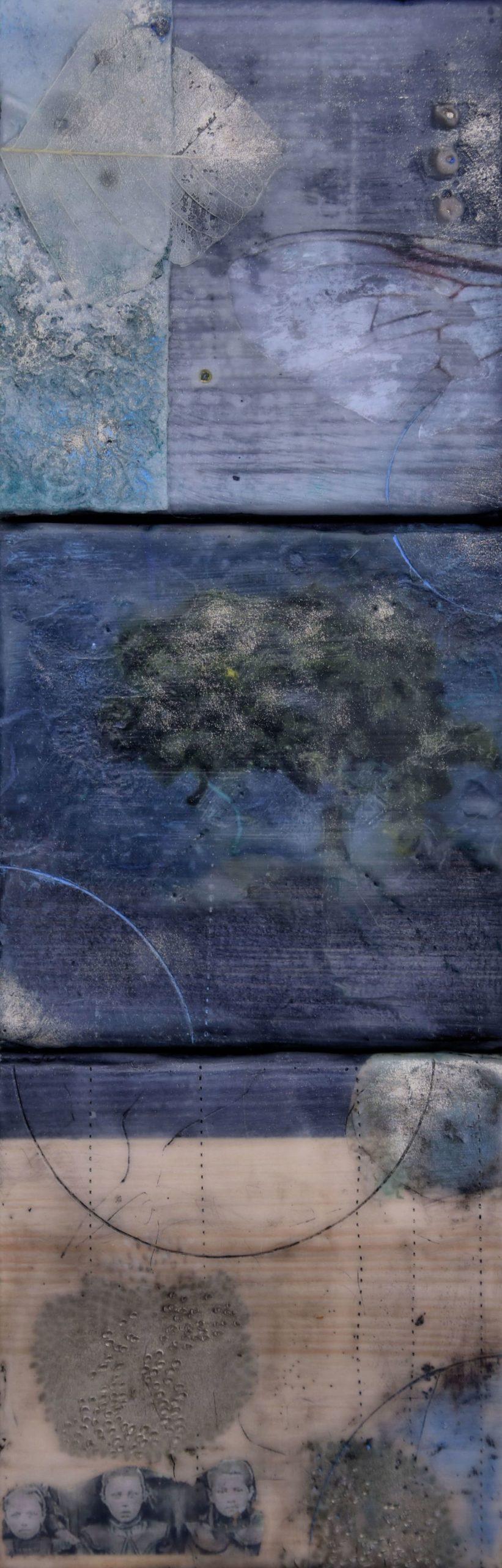 Kunst: forgotten faces I van kunstenaar Trijnie Mohlmann