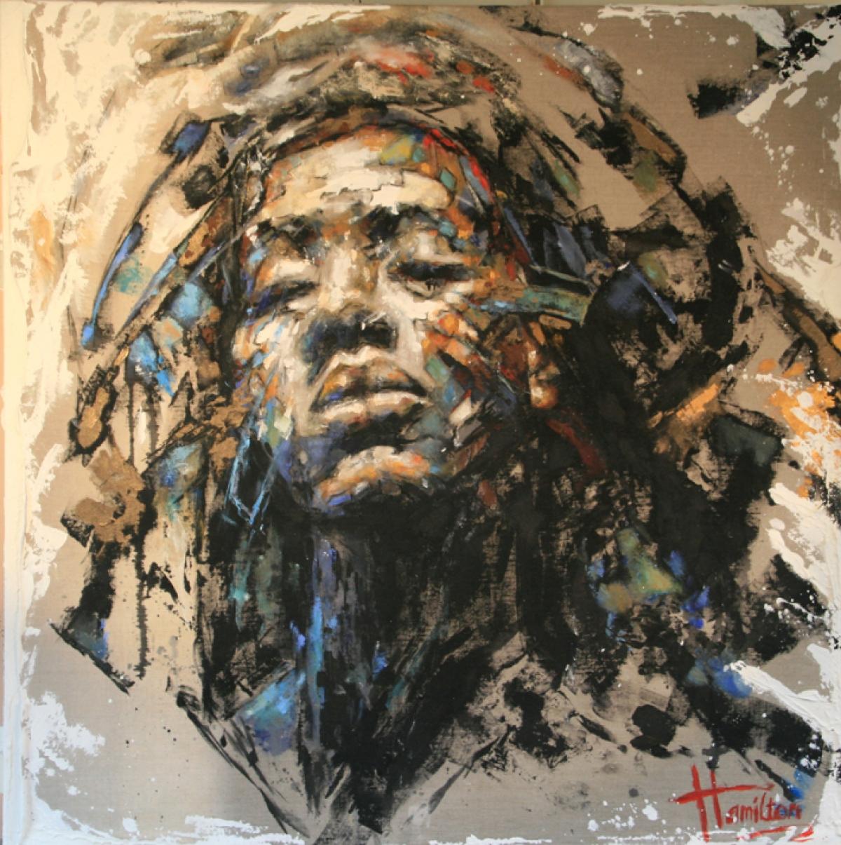 Kunst: Freedom van kunstenaar Evelyn Hamilton