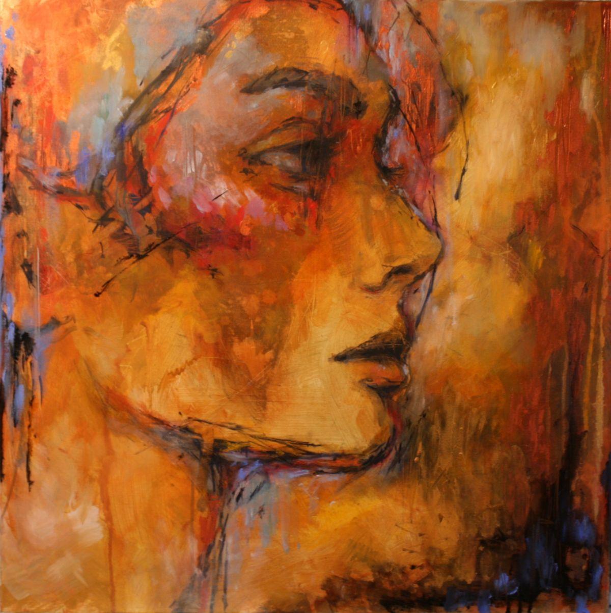Kunst: From dusk till dawn van kunstenaar Evelyn Hamilton