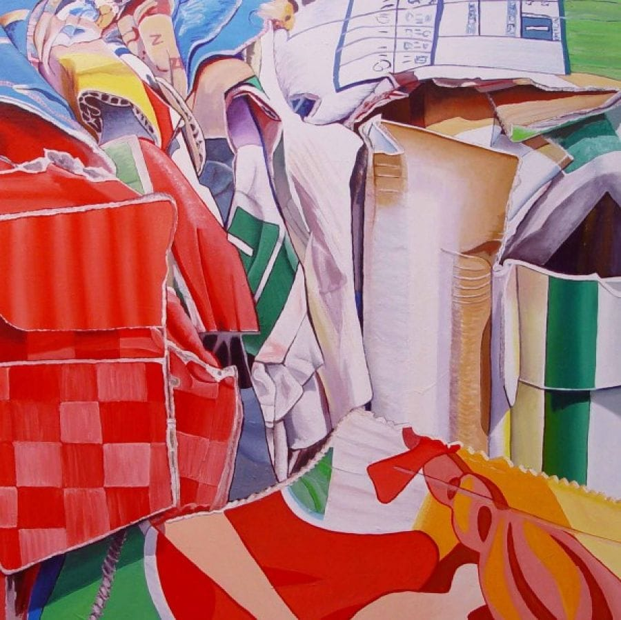 Kunst: Frotter van kunstenaar Ella Joosten