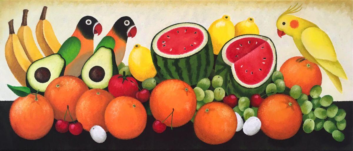 Kunst: Fruit van kunstenaar Yvonne Zomerdijk
