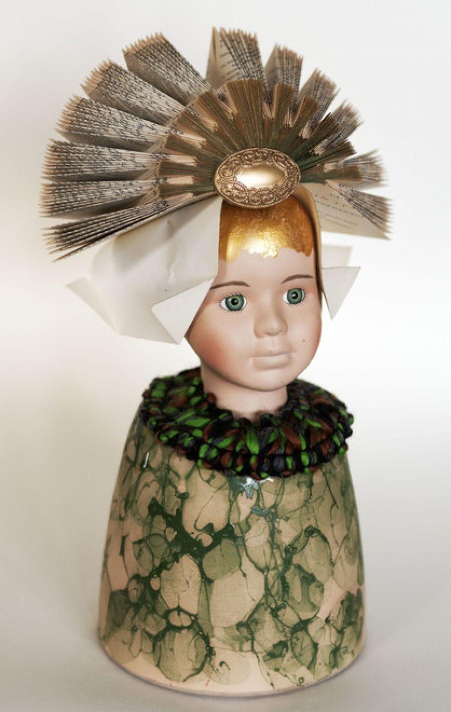 Kunst: Garden Girl van kunstenaar Frida Badoux