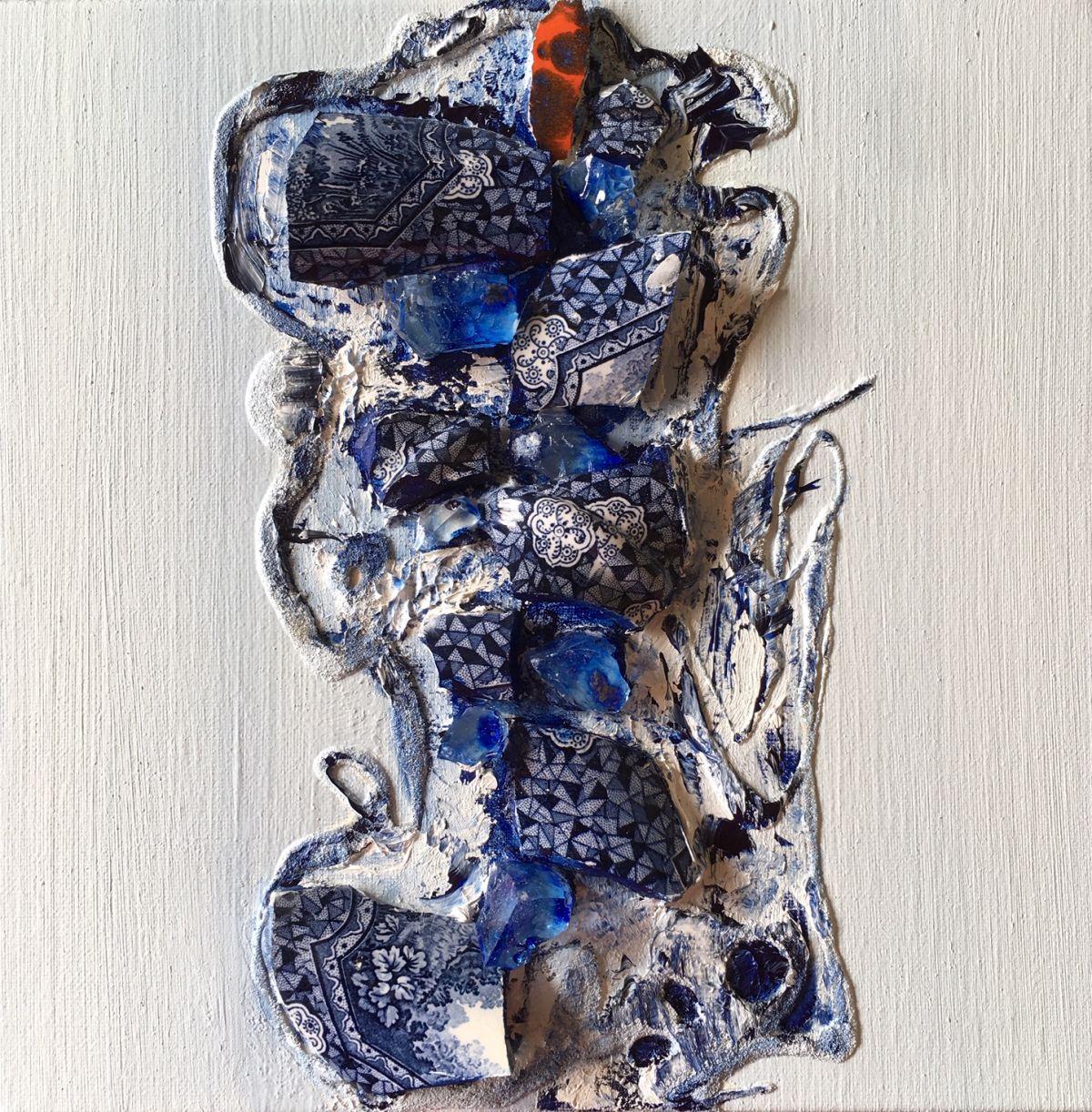 Kunst: Gebroken herinnering III van kunstenaar Els Vegter