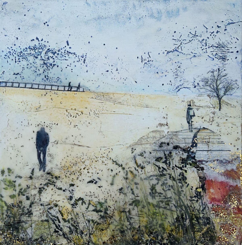 Kunst: Geen titel nr.12 van kunstenaar Trijnie Mohlmann