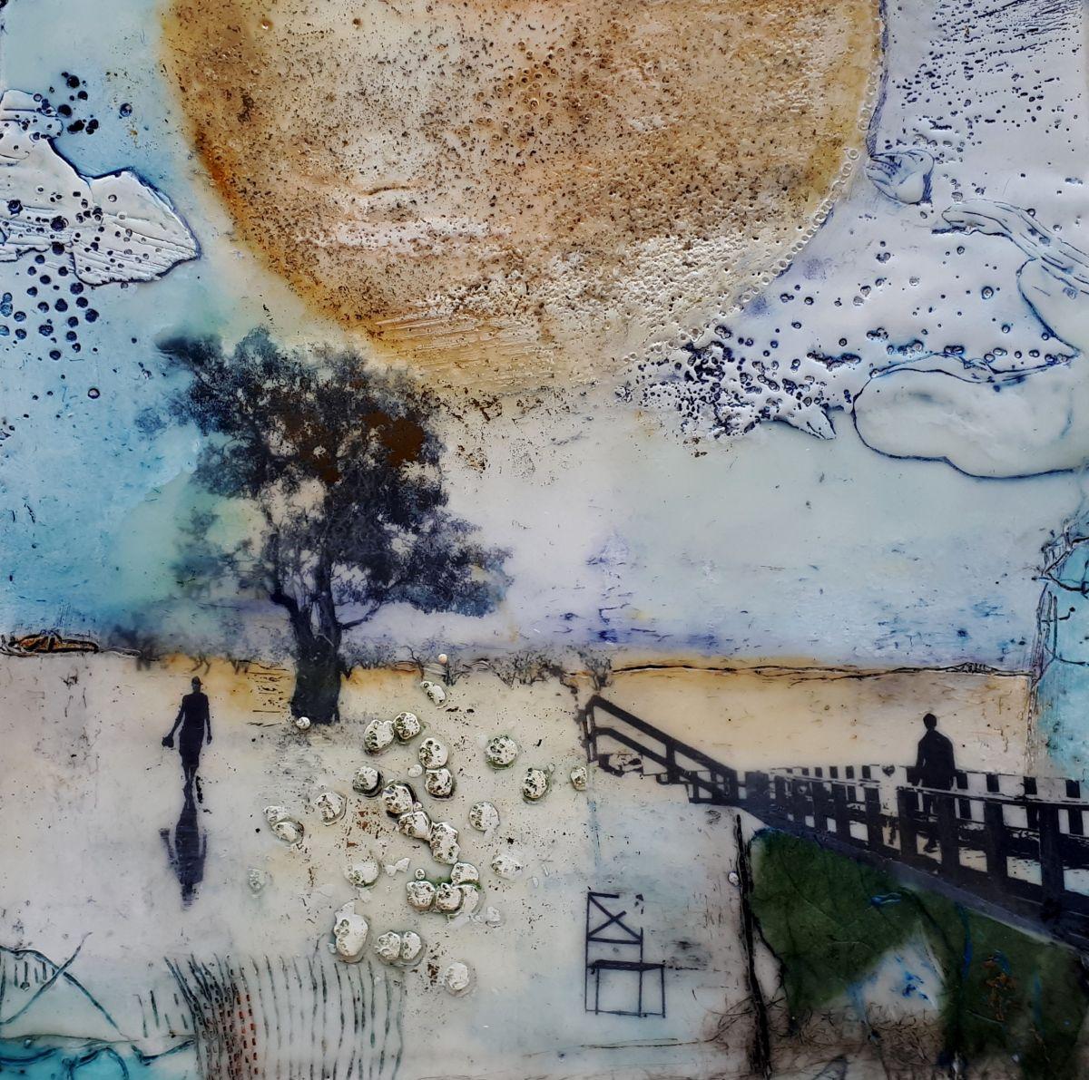 Kunst: Geen titel,  nr 9 van kunstenaar Trijnie Mohlmann