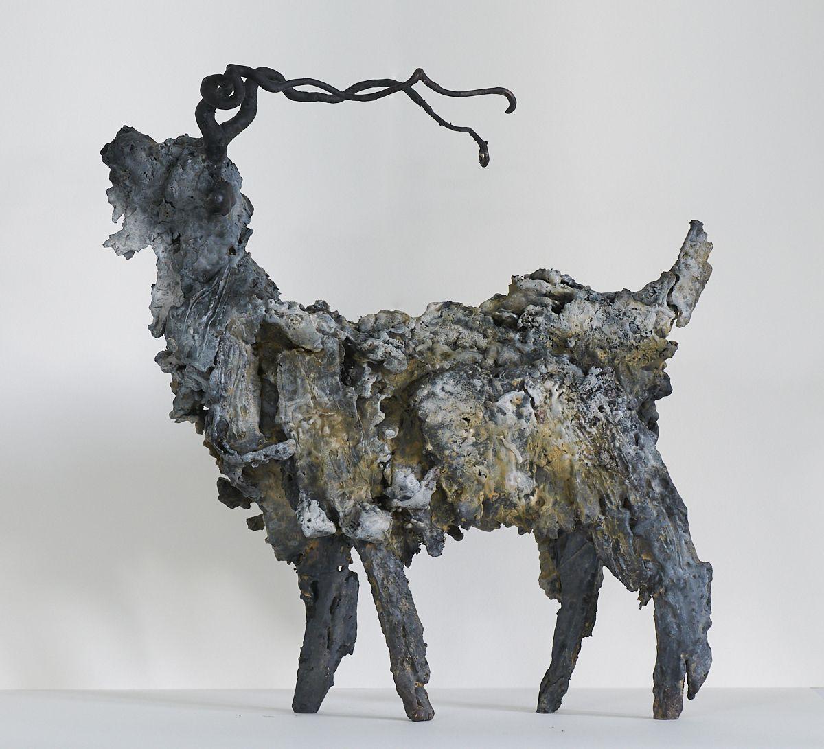 Kunst: Geit 10 van kunstenaar Edith Stoel
