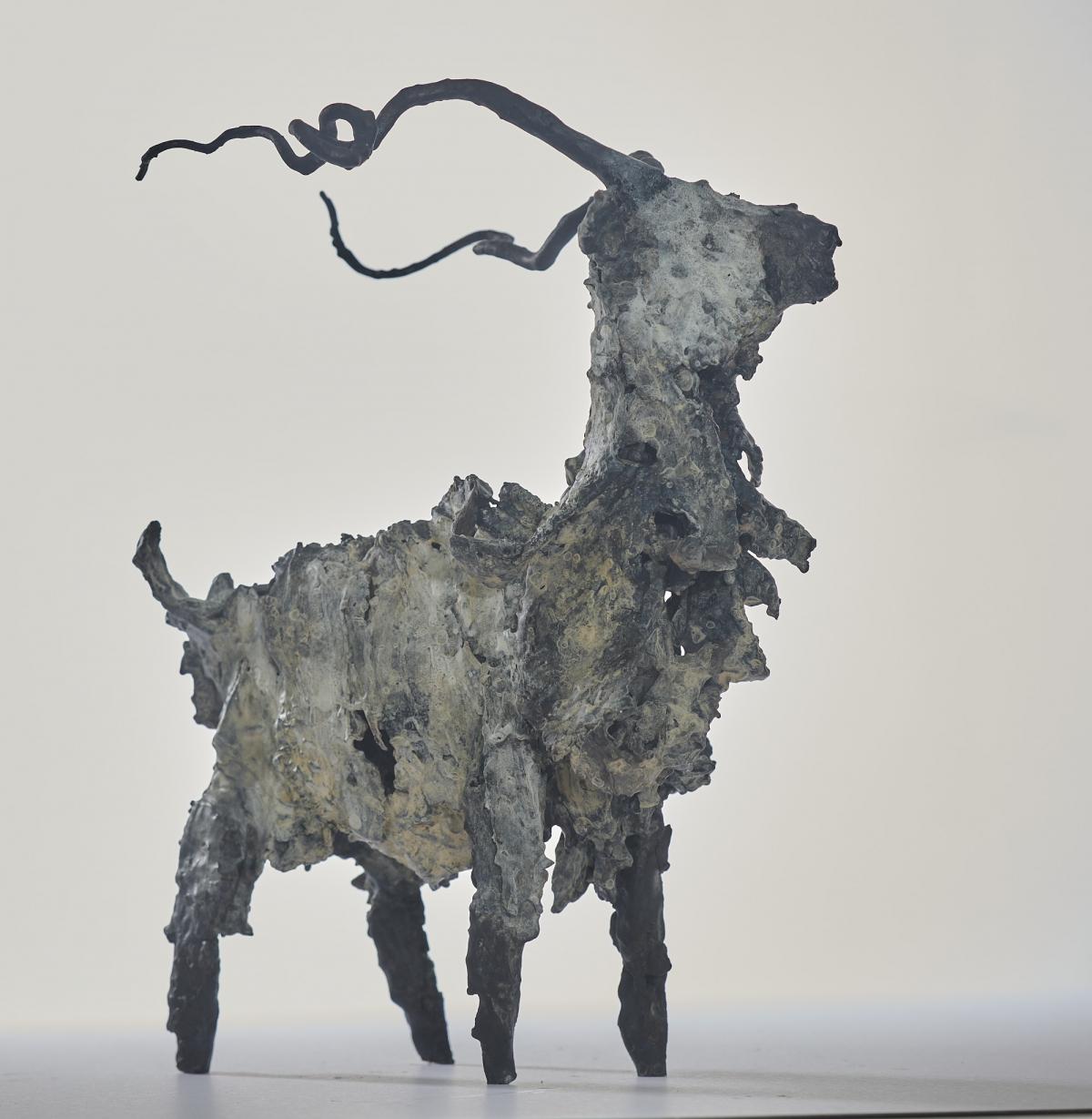 Kunst: Geit 14 van kunstenaar Edith Stoel