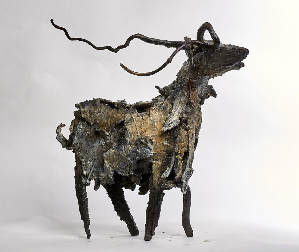 Kunst: Geit 9 van kunstenaar Edith Stoel