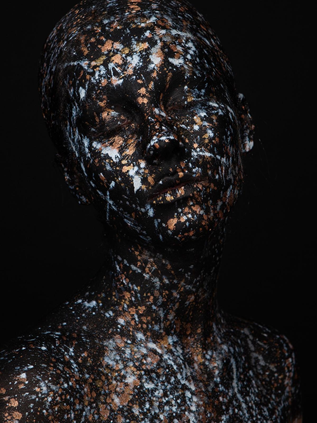 Kunst: Genieten 1, Golden Girl van kunstenaar Marieke Gaymans