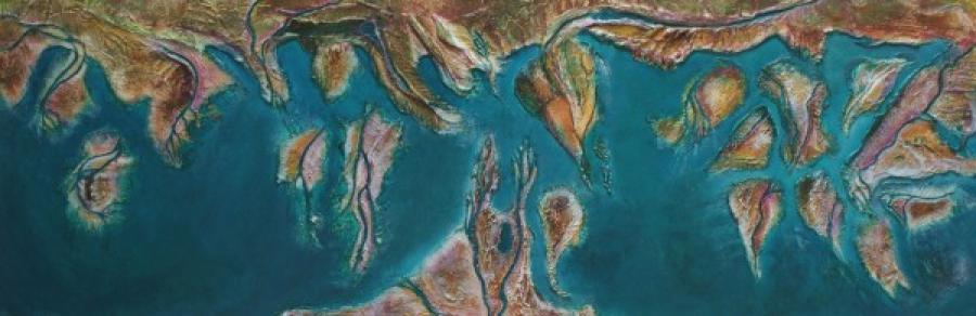 Kunst: Geulen en kreken van kunstenaar Els Vegter