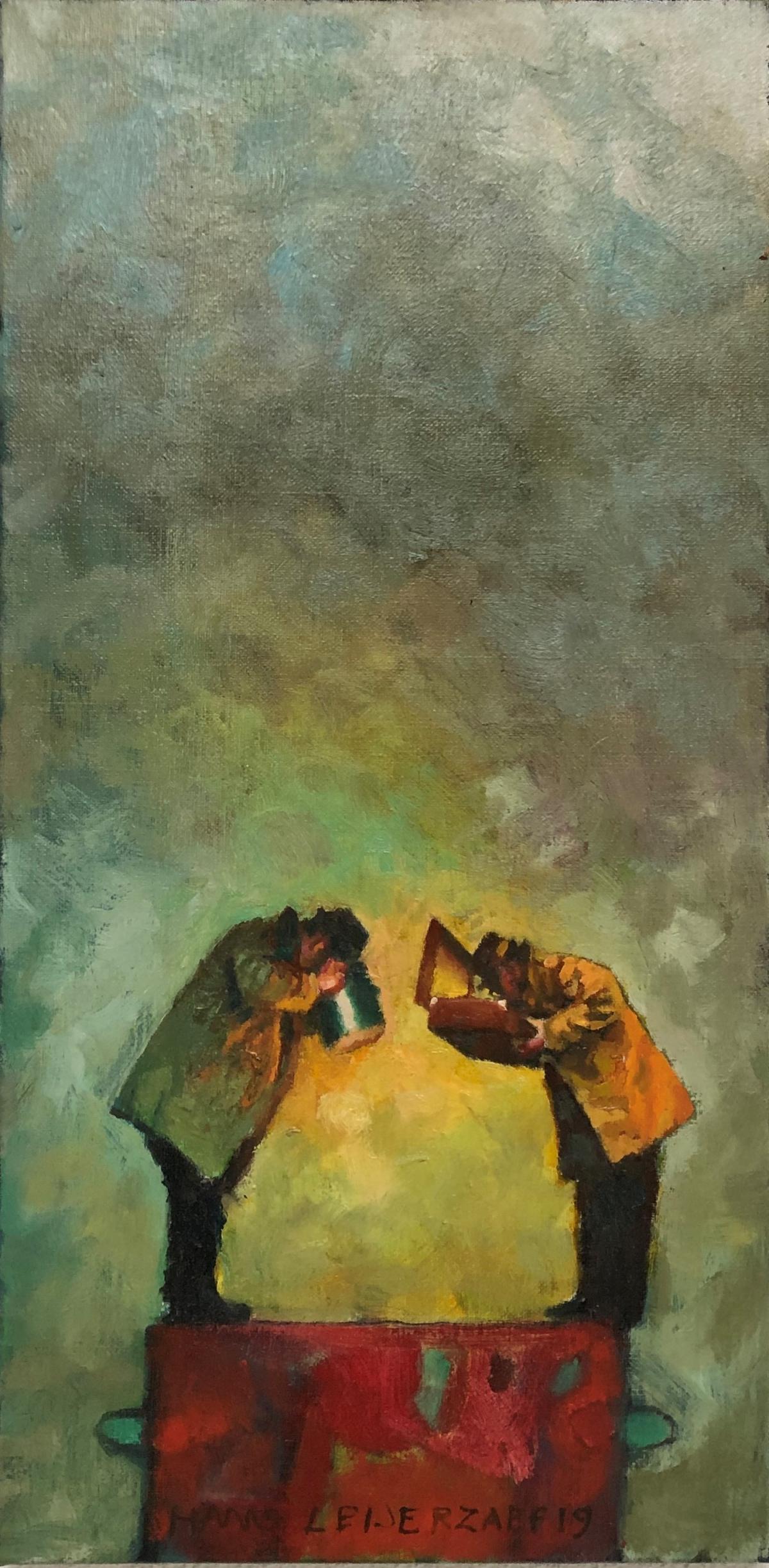Kunst: Gisteren, maar ook vandaag van kunstenaar Hans Leijerzapf