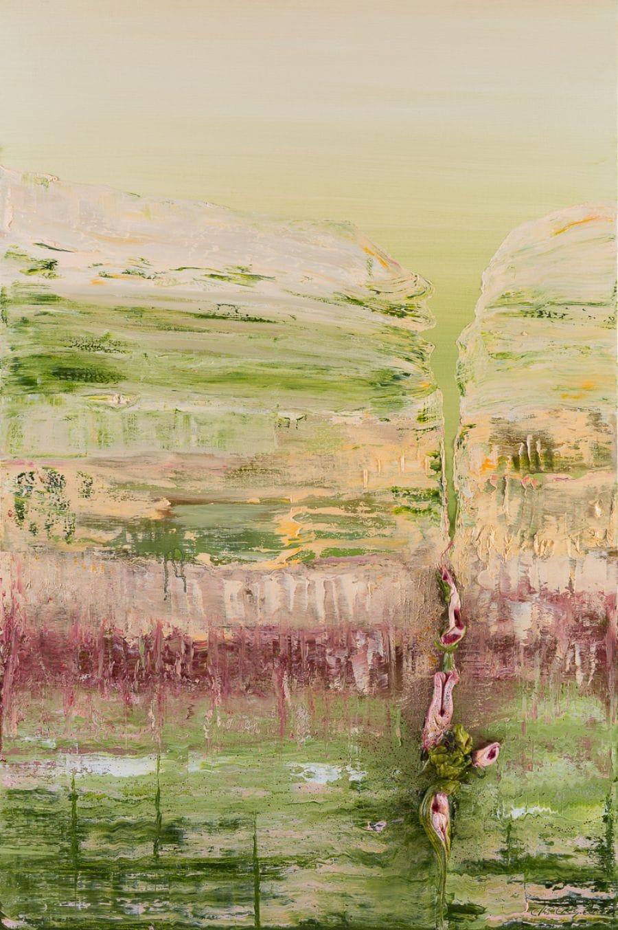 Kunst: Giving birth van kunstenaar Els Vegter