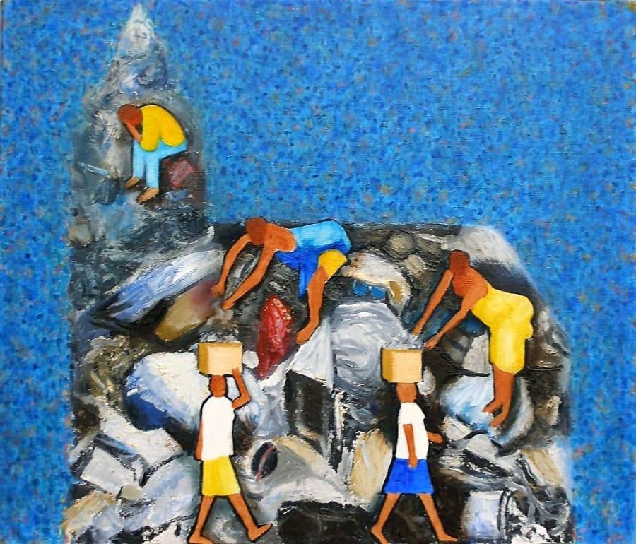 Kunst: glas in lood van kunstenaar Leo Wijnhoven