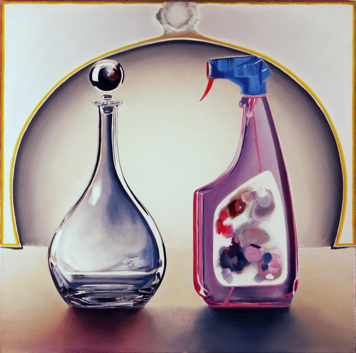 Kunst: glassex van kunstenaar Leo Wijnhoven