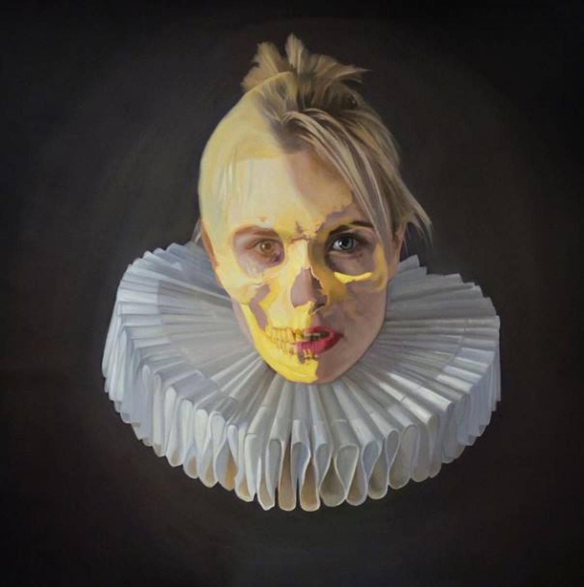 Kunst: Glitters and gold van kunstenaar Frank E Hollywood