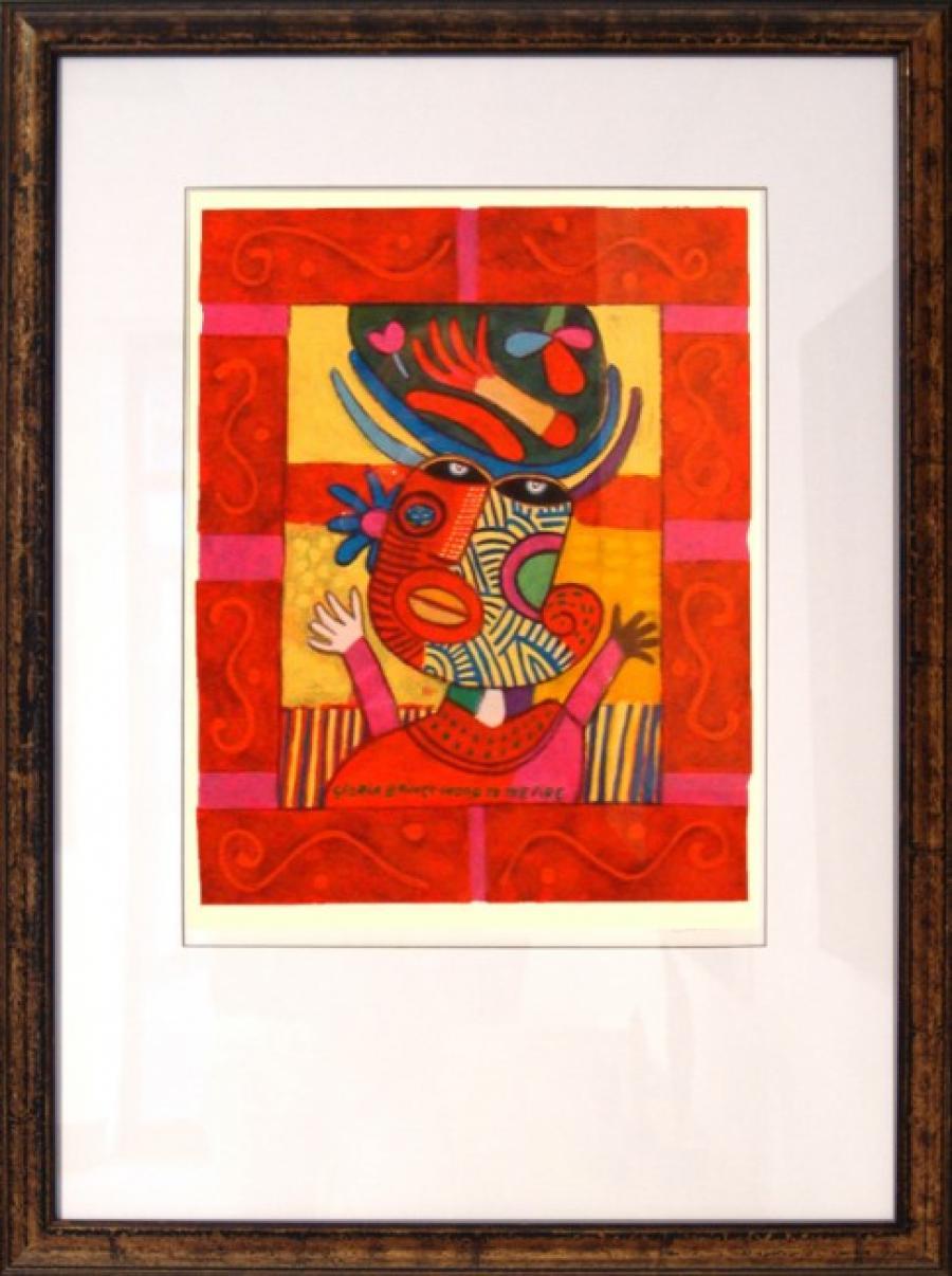 Kunst: Gloria II van kunstenaar Clemens Briels