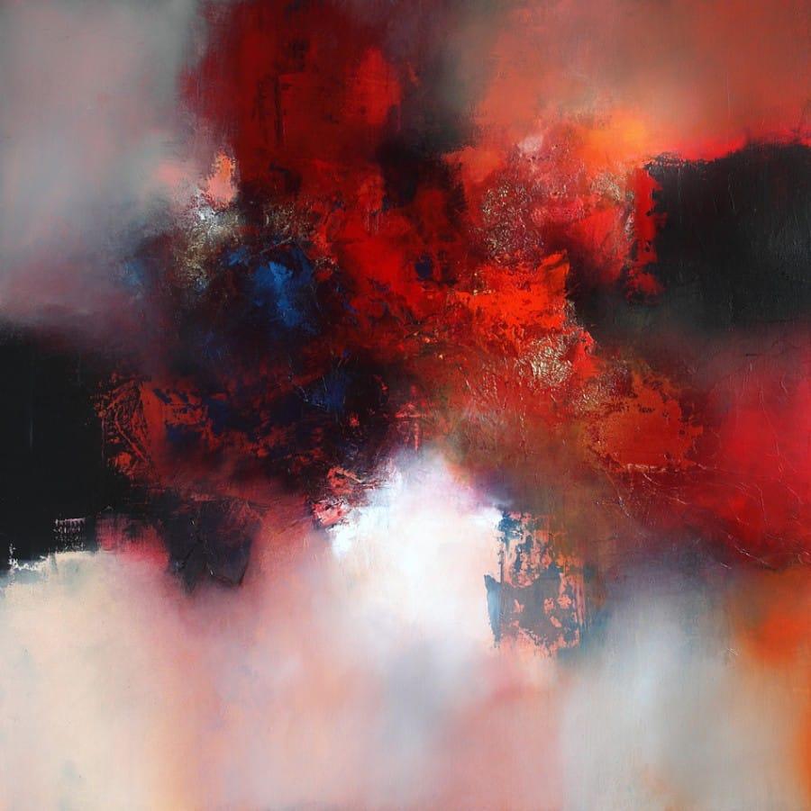 Kunst: Golden autumn day van kunstenaar Eelco Maan