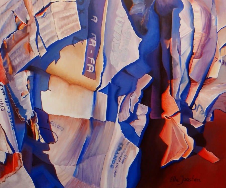 Kunst: Grabble van kunstenaar Ella Joosten