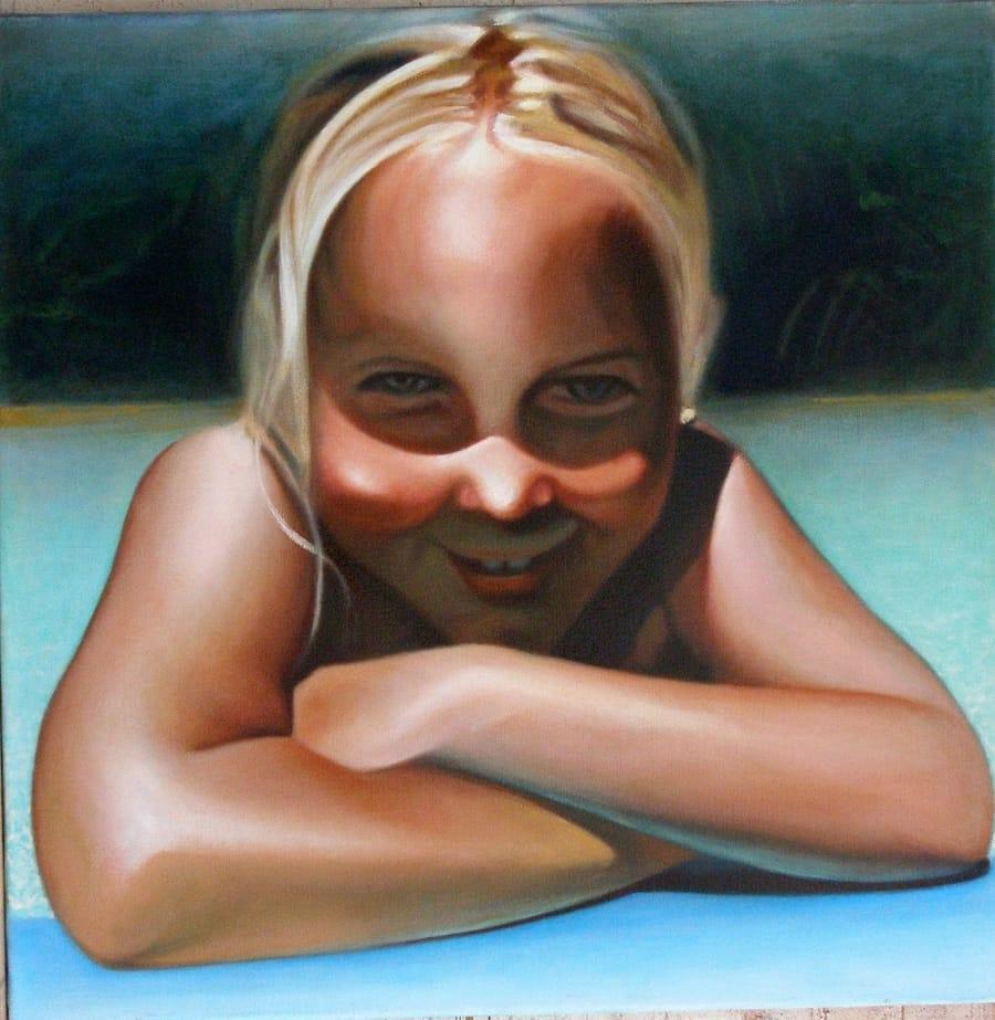 Kunst: grietje van kunstenaar Leo Wijnhoven