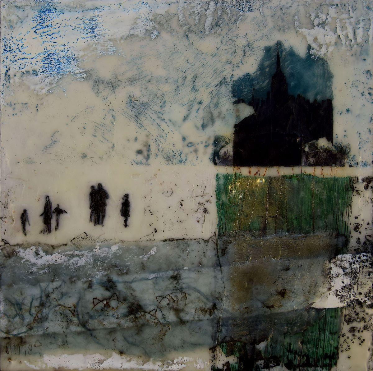 Kunst: Grote stad van kunstenaar Trijnie Mohlmann