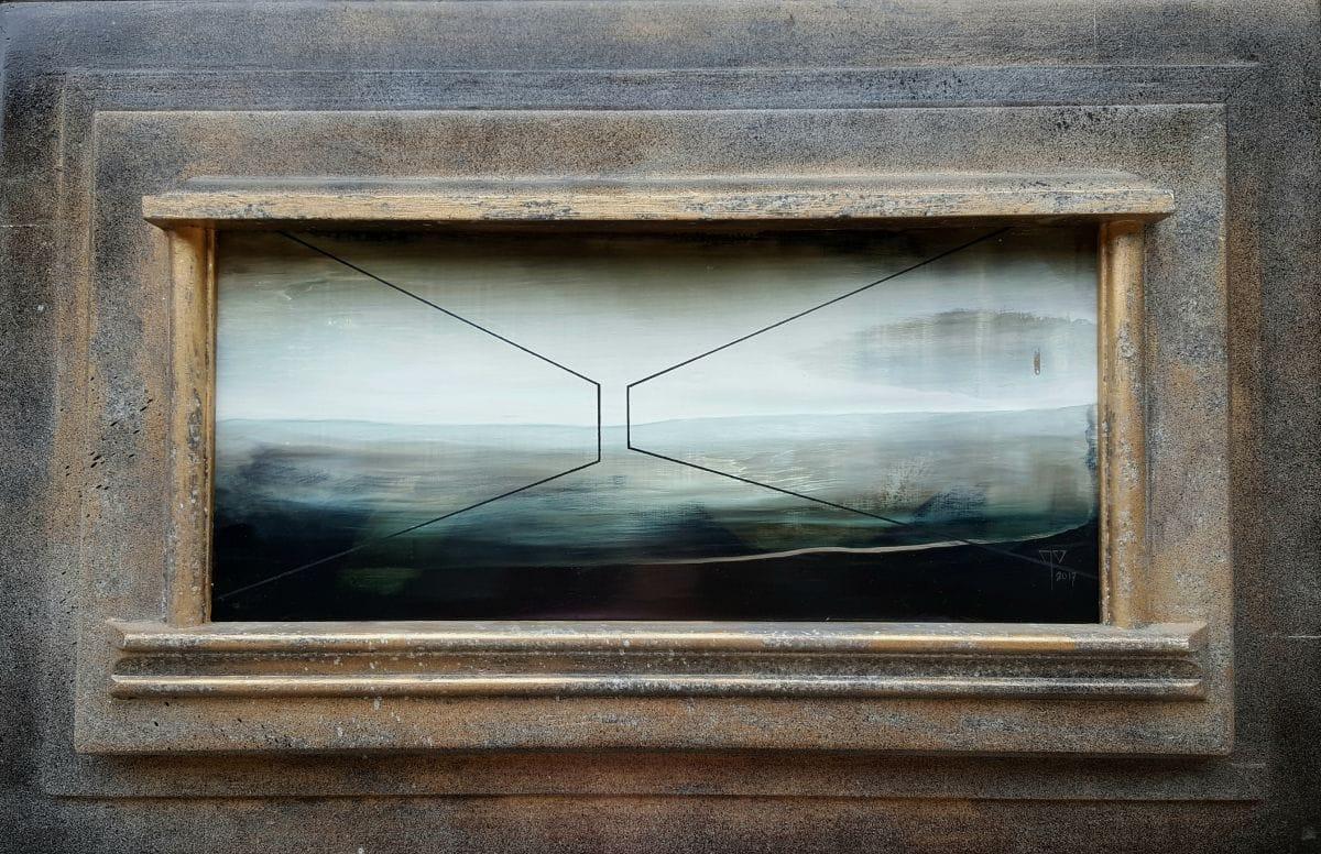 Kunst: Hall of power II van kunstenaar Joachim van der Vlugt