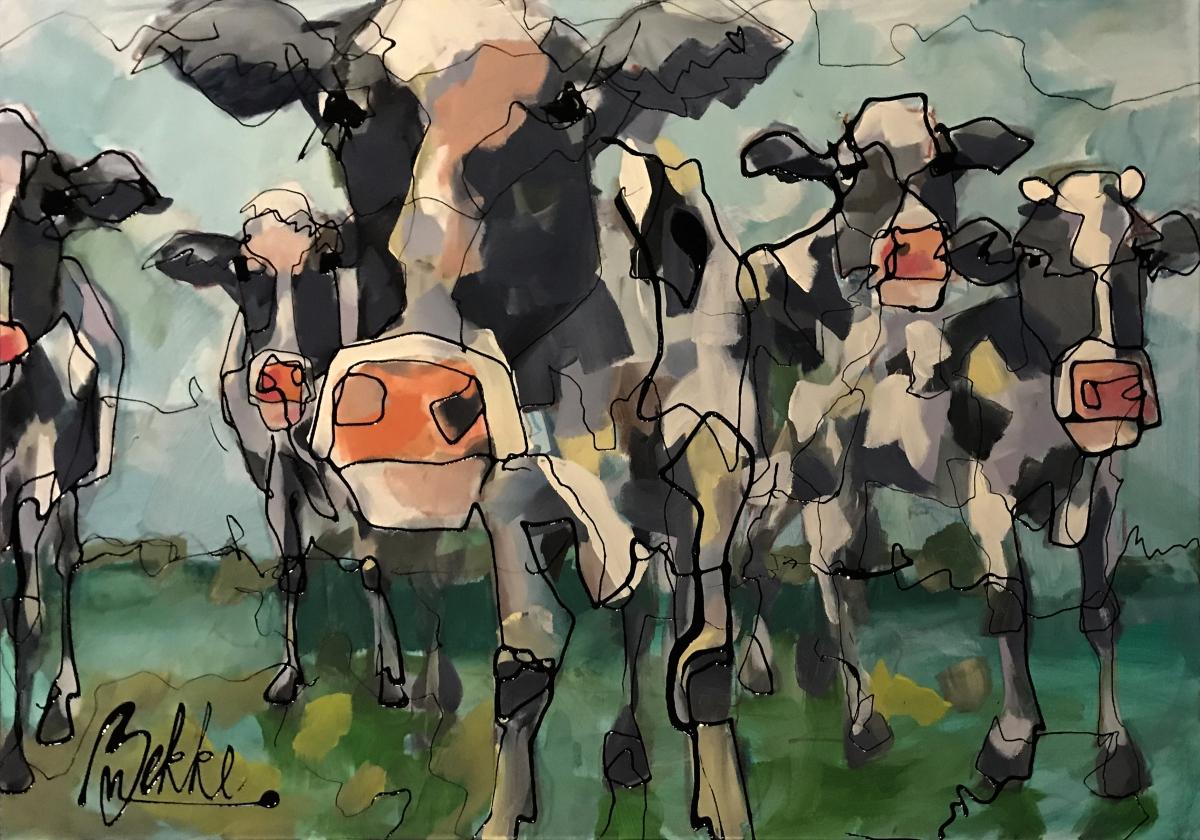 Kunst: Hallo van kunstenaar Marieke Bekke