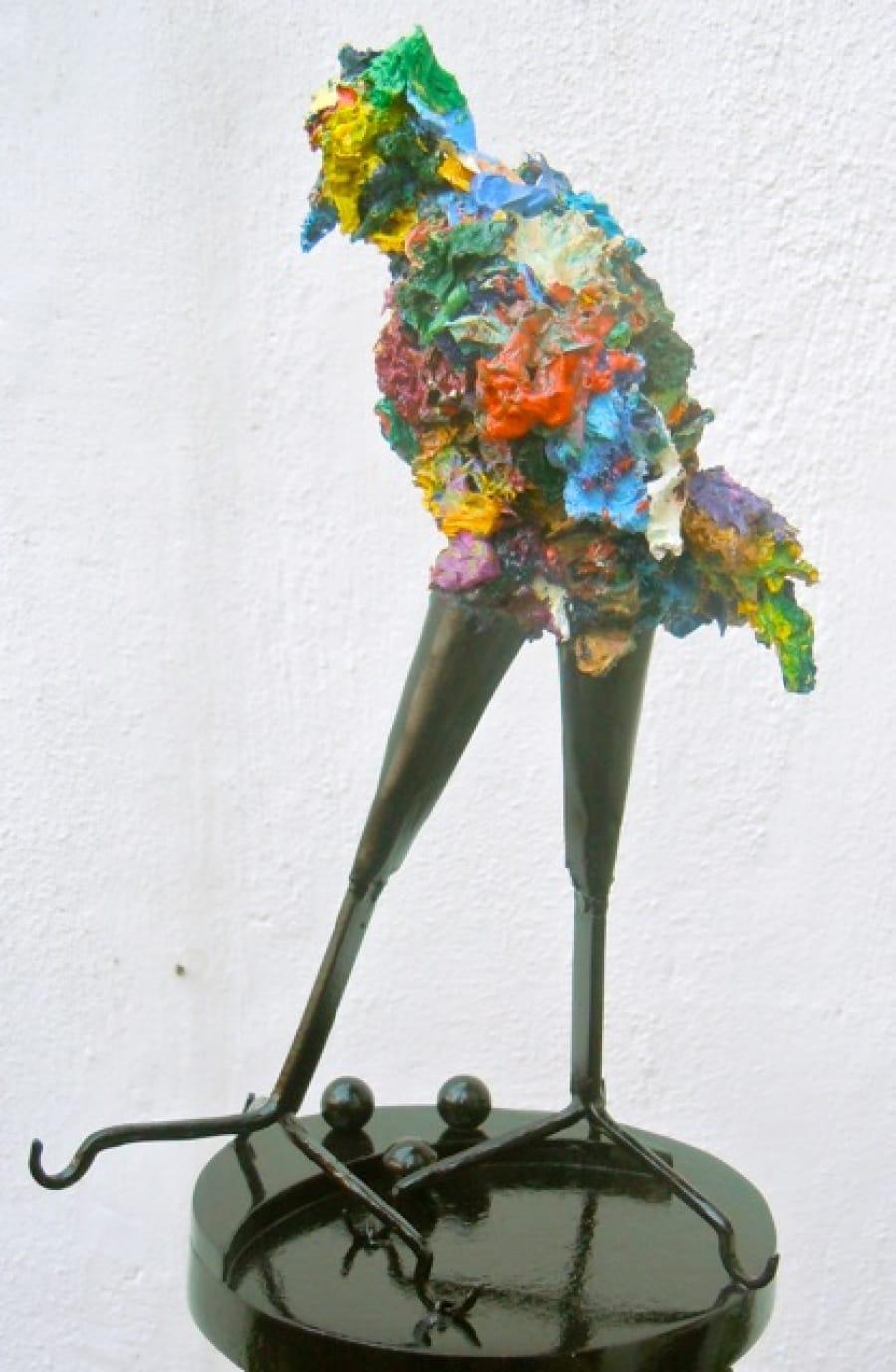 Kunst: hanepoot van kunstenaar Angenelle Thijssen