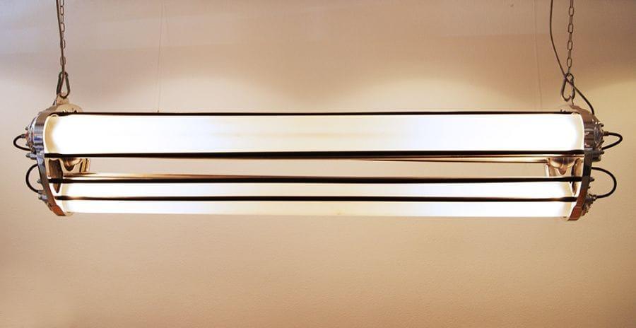 Kunst: Hanglamp van kunstenaar Stef van der Bijl