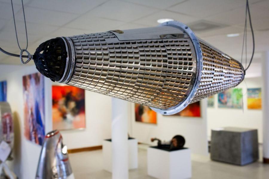Kunst: Hanglamp / The Filter van kunstenaar Stef van der Bijl