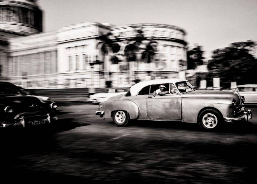 Kunst: Havana street nr3 van kunstenaar Gertjan van Geerenstein