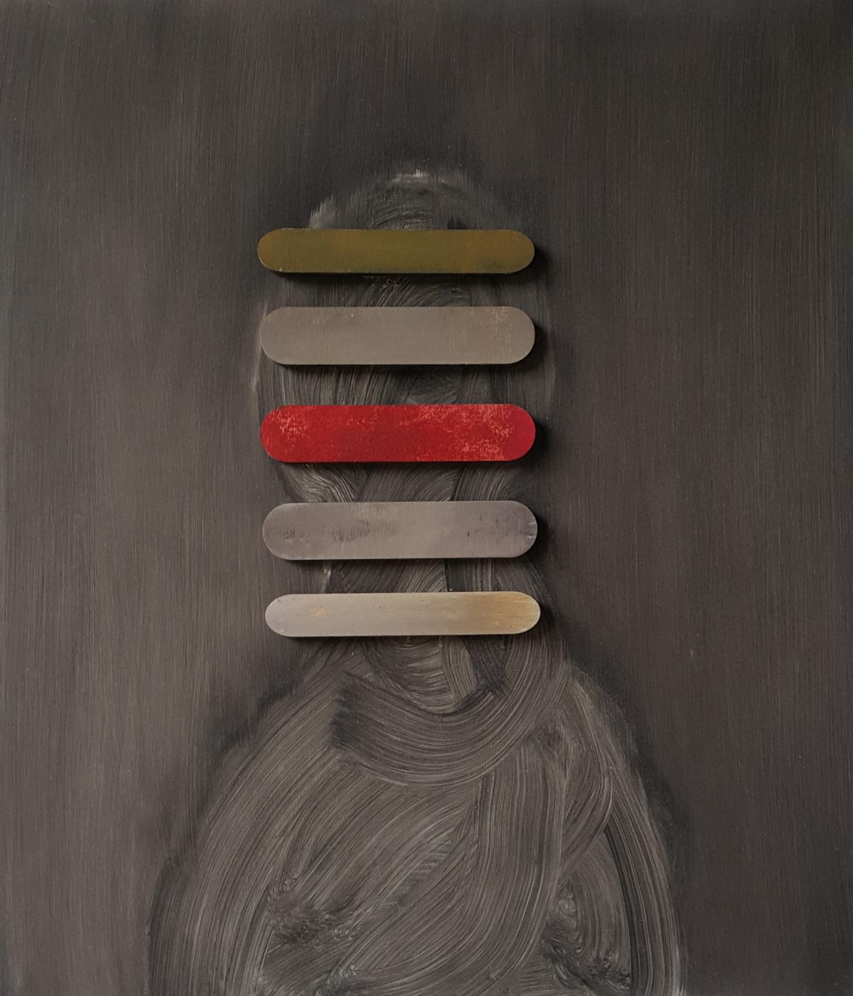 Kunst: Head XII van kunstenaar Daniel Martin