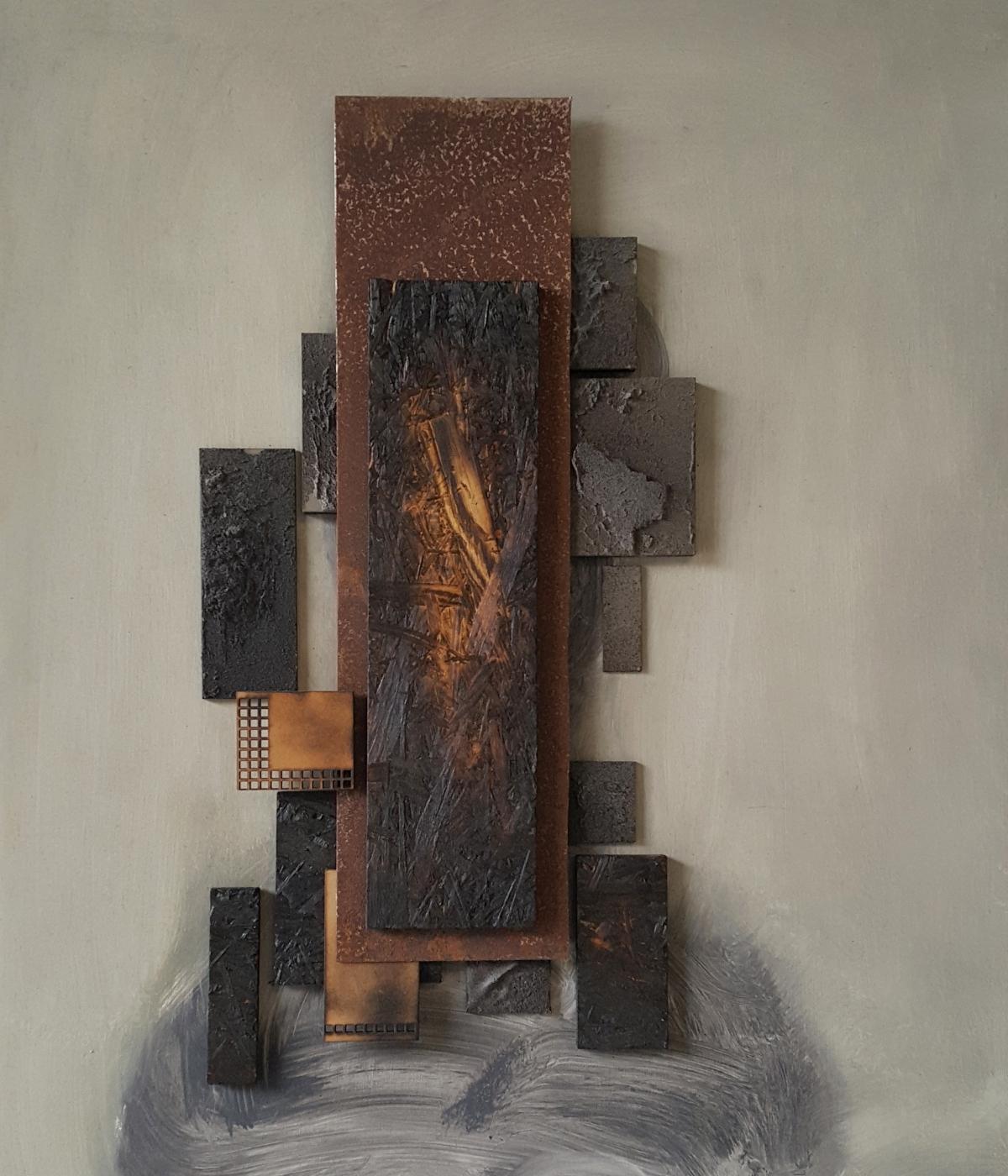 Kunst: Head XIV van kunstenaar Daniel Martin