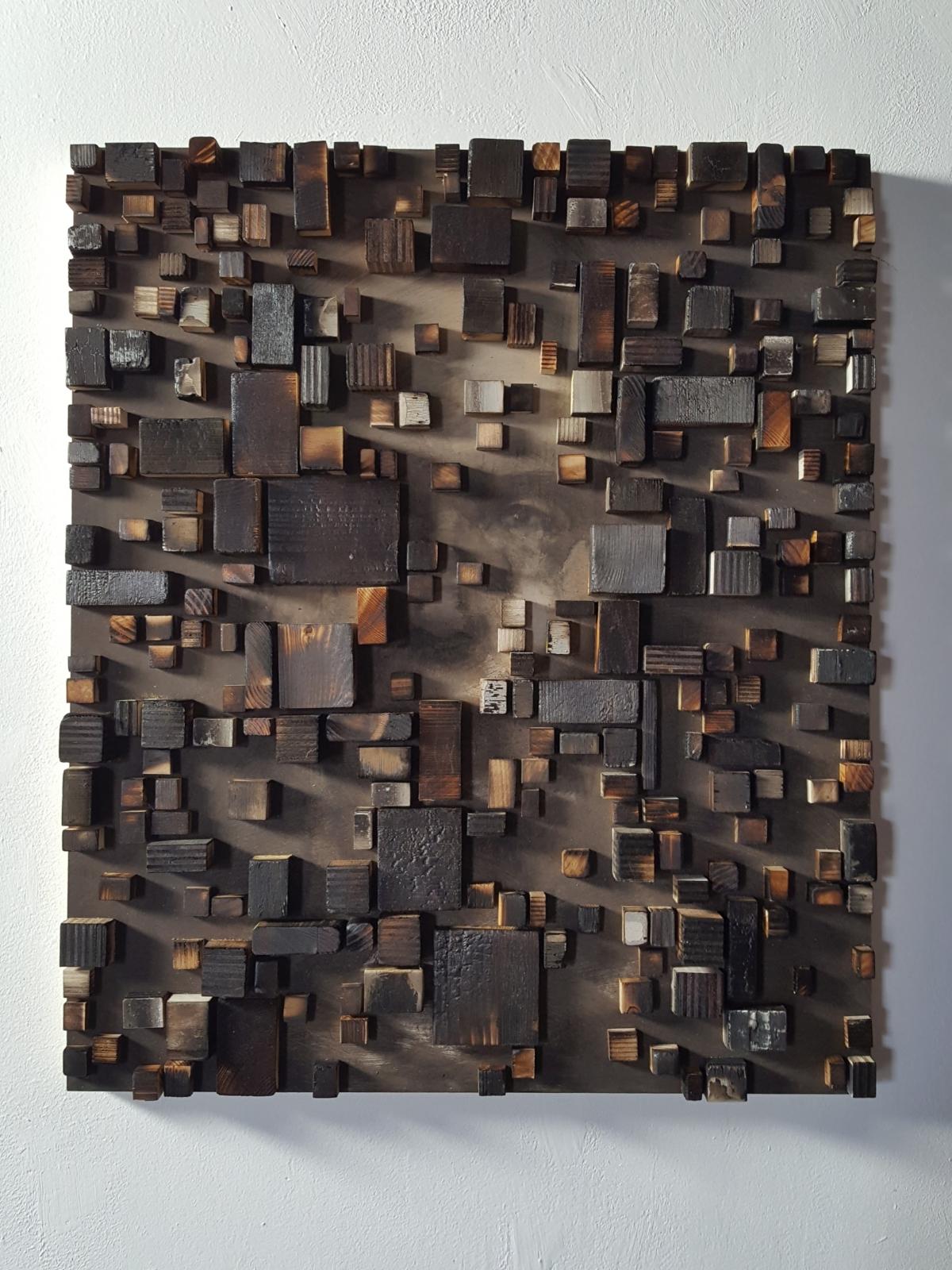 Kunst: Head XV van kunstenaar Daniel Martin