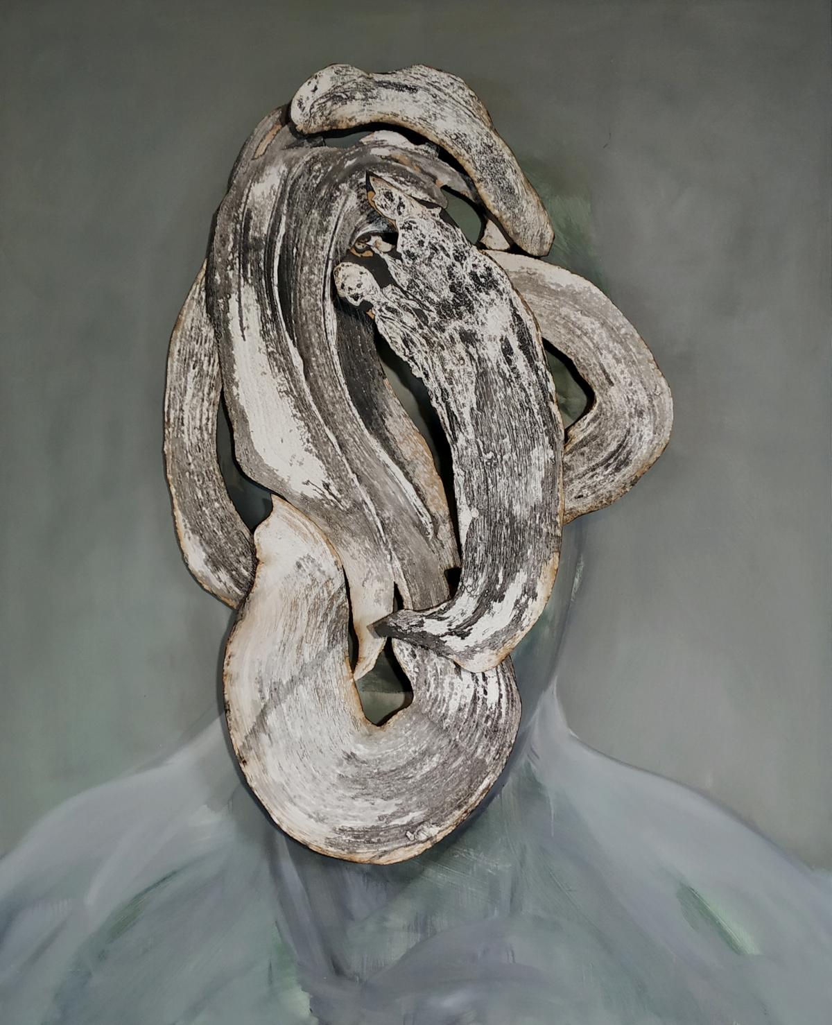 Kunst: Head XXVIII van kunstenaar Daniel Martin