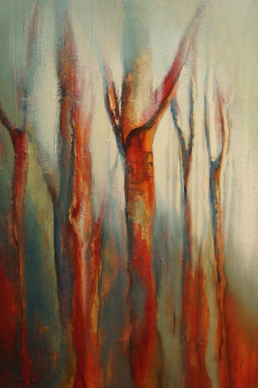 Kunst: Herfst van kunstenaar Marly Freij(vergezichten)