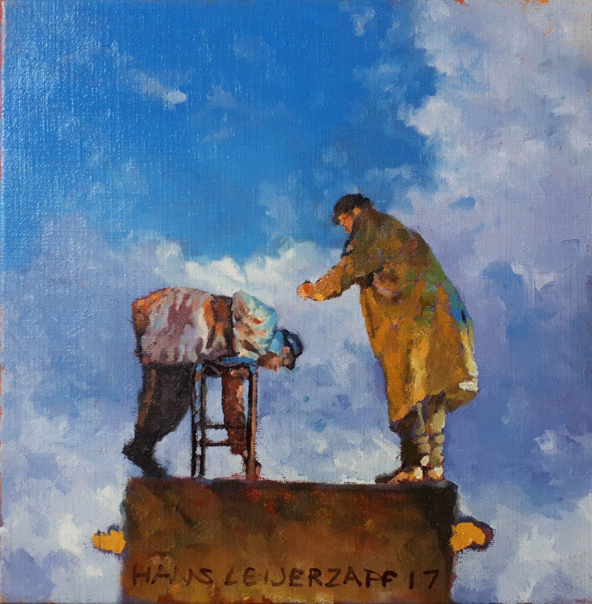Kunst: Het bierviltje van kunstenaar Hans Leijerzapf
