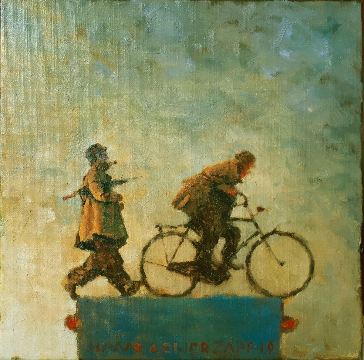 Kunst: Het bijhouden van kunstenaar Hans Leijerzapf