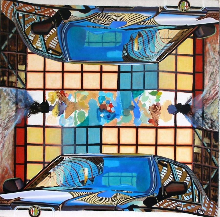 Kunst: het onvermogen v spiegeling van kunstenaar Leo Wijnhoven