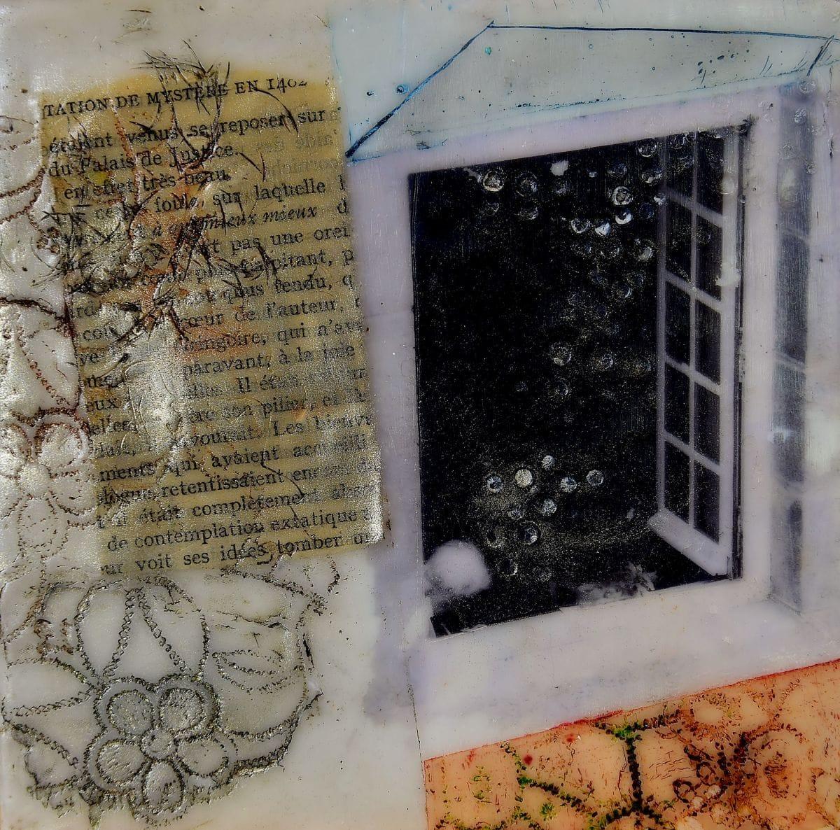 Kunst: Het open venster Nr. 7 van kunstenaar Trijnie Mohlmann