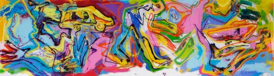 Kunst: Het Vertrek van kunstenaar Jan van Lokhorst
